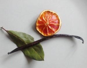 orange mit Lorbeer und Vanille_618
